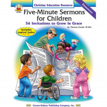 CD-2029 - Five-Minute Sermons For Children in Inspirational