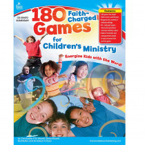 CD-204072 - 180 Faith-Charged Games For Childrens Ministry Elementary in Inspirational