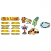 CD-210017 - He Is Risen Bb Set Christian in Inspirational