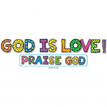 CD-210018 - God Is Love Bb Sets 6-Pk Christian in Inspirational
