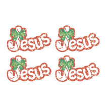 CD-2155 - Dazzle Stickers Jesus Legend 60/Pk Of The Candy Cane Acid/Lignin Free in Inspirational