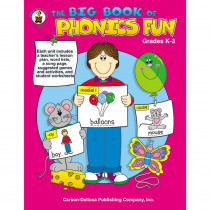 CD-2352 - Big Book Of Phonics Fun Gr Pk-1 in Phonics