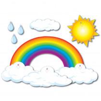 CD-3200 - Bulletin Board Set Big Rainbow 44 X 25-1/2 in Classroom Theme