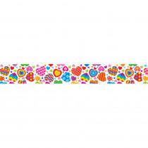 CD-3336 - Groovy Hearts Border in Holiday/seasonal