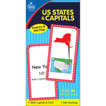 CD-3913 - Flash Cards Us States & Capitals in States & Capitals