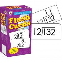 CD-3929 - Flash Cards Division 0-12 in Flash Cards