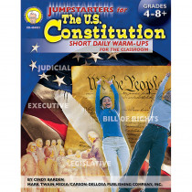CD-404031 - Jumpstarters For The Us Constitution Short Daily Warm Ups in Government