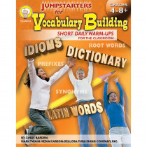 CD-404054 - Jumpstarters For Vocabulary Building in Vocabulary Skills