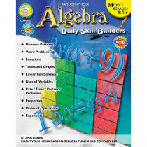 CD-404083 - Daily Skills Builders Series Algebra in Algebra