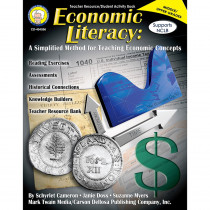 CD-404096 - Economic Literacy Simplified Method For Teaching Economic Concepts in Economics