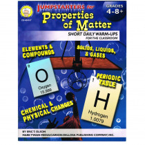 CD-404107 - Jumpstarters For Properties Of Matter Book in Energy