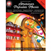 CD-404135 - American Popular Music in Activity/resource Books