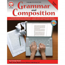 CD-404156 - Grammar And Composition Gr 5-8 in Grammar Skills