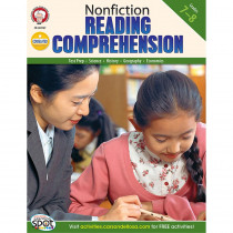 CD-404167 - Nonfiction Reading Comprehension Test Prep Gr 7-8 in Language Arts