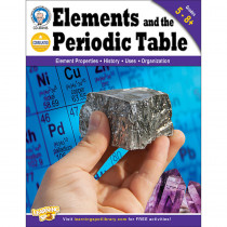 CD-404185 - Elements And The Periodic Table Gr 5-8 in Chemistry