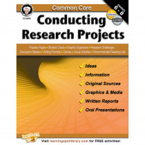 CD-404216 - Common Core Conducting Research Projects Book Gr 6-8 in Writing Skills
