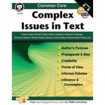 CD-404217 - Common Core Complex Issues In Text Book Gr 6-8 in Reading Skills
