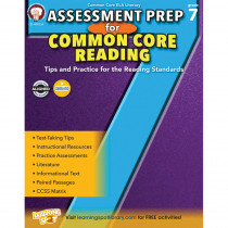 CD-404224 - Gr 7 Assessment Prep For Common Core Reading in Reading Skills