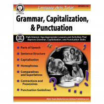 CD-404253 - Latutor Capitalization Punct Gr 4-8 in Language Skills