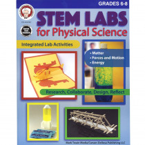 CD-404262 - Stem Lab Physical Science Bk Gr 6-8 in Energy