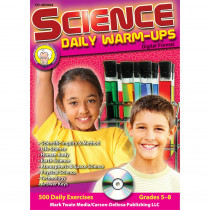 CD-405004 - Science Daily Warm Ups Cd Rom in Science
