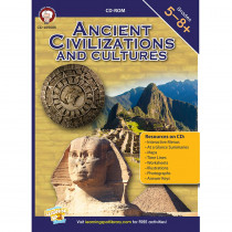 CD-405005 - Ancient Civilizations And Cultures Cd in Cultural Awareness