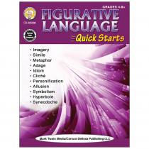 CD-405036 - Figurative Language Workbook Quick Starts in Reference Books