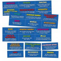 CD-410086 - Mathematics Domain Mini Bulletin Board Set in Math