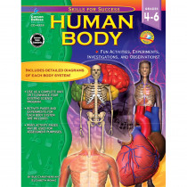 CD-4329 - Human Body Gr 4-6 in Human Anatomy