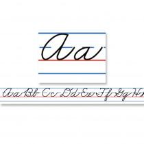 CD-4402 - Desk Tapes Traditional Cursive 36Pk 20 X 1 in Handwriting Skills