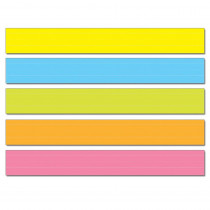 CD-4451 - Sentence Strips Lined 75Pk Multi Colored 3 X 24 in Sentence Strips