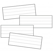 CD-4457 - Word Strips Lined White 100/Pk 3X8 in Sentence Strips