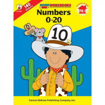 CD-4517 - Numbers 0 20 Workbook in Numeration