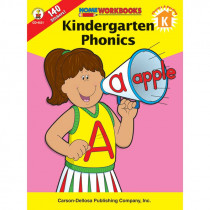 CD-4521 - Home Workbook Kindergarten Phonics in Phonics
