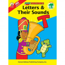 CD-4527 - Home Workbook Letters & Their Gr K-1 Sounds in Letter Recognition