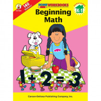 CD-4529 - Beginning Math Home Workbook in Skill Builders