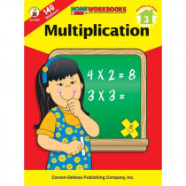 CD-4548 - Multiplication Home Workbook in Multiplication & Division