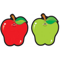 CD-5555 - Colorful Cut-Outs Apples 36/Pk Assorted Designs in Accents
