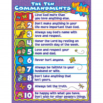 CD-6359 - The Ten Commandments For Kids in Inspirational