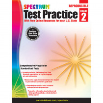 CD-704248 - Test Practice Workbook Gr 2 in Cross-curriculum