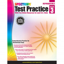 CD-704249 - Test Practice Workbook Gr 3 in Cross-curriculum