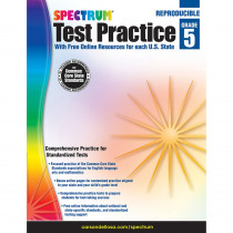 CD-704251 - Test Practice Workbook Gr 5 in Cross-curriculum