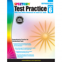 CD-704252 - Test Practice Workbook Gr 6 in Cross-curriculum