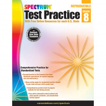 CD-704254 - Test Practice Gr 8 in Cross-curriculum