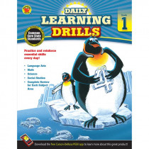 CD-704392 - Daily Learning Drills Books Gr 1 in Cross-curriculum Resources