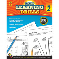 CD-704393 - Daily Learning Drills Books Gr 2 in Cross-curriculum Resources