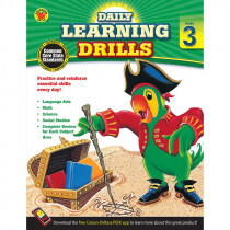 CD-704394 - Daily Learning Drills Books Gr 3 in Cross-curriculum Resources