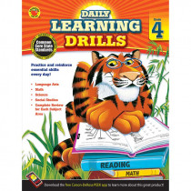 CD-704395 - Daily Learning Drills Books Gr 4 in Cross-curriculum Resources