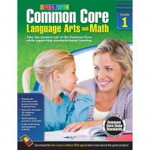 CD-704501 - Gr 1 Common Core Language Arts & Math Book in Skill Builders