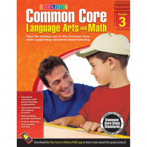 CD-704503 - Gr 3 Common Core Language Arts & Math Book in Skill Builders